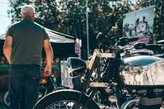Proof that motorcycling, and British biking, remains popular, as the Triumph North London launch event attracts crowds to the new dealership North London, East London, Custom Tanks, London Brands, Surrey, Crowd, Attraction, Monster Trucks, Product Launch