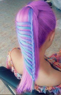 Trenza + Colores = Wow!