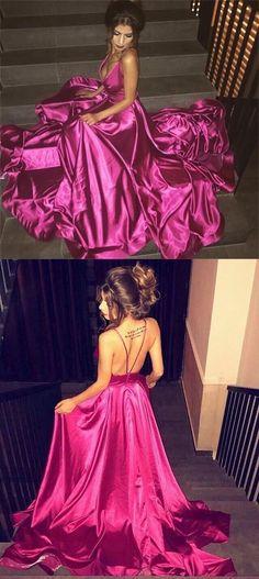 Charming Shinny Fashion Prom Dresses, 2018 Spaghetti Straps Modern Party Dresses, Evening Dresses, PD0307