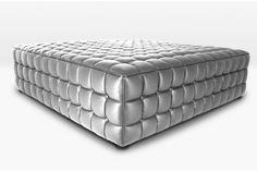 Pouf Quadrato Argento