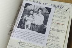 Goodly Parents - free printable for scripture journaling - she does amazing journaling - great inspiration and printouts!  1 Nephi