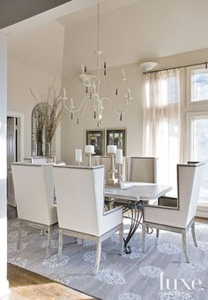 Viyet Style Inspiration | Dining Room | Find Madeline Weinrib rugs at Viyet