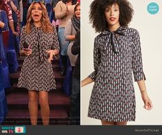 3f53f82e02f3 Pucker Up! Cotton Shift Dress by Modcloth. WornOnTV. Wendy Williams ...