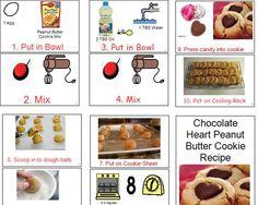 Boardmaker Achieve- Peanut butter heart cookies