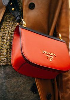 3dc214d64101 Backstage at the Prada Fall Winter 2016 show Luxury Handbags