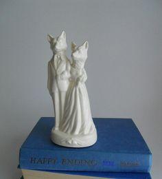 Fox Love Wedding Cake Topper