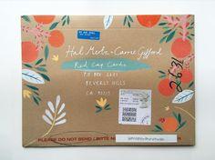 Carrie Gifford & Hal Mertz (@redcapcards) • envelope illustration by Mia Dunton www.miaduntonillustration.co.uk