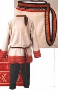 Russie-Liban » Blog Archive » Le costume populaire russe