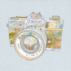 Travel Canon Art Print by Bianca Green | Society6