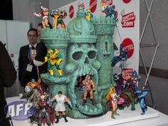 he man and the masters of the universe toys | ... Do You Stand on the Masters of the Universe Classics Castle Grayskull
