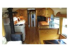 1997 Bluebird International full length school bus turned into a beautiful  mobile home