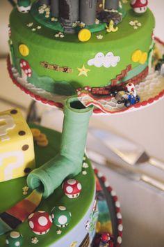 Super Mario Kart wedding Cake
