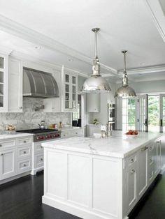 Luxury White Kitchen Cabinets Ideas 30
