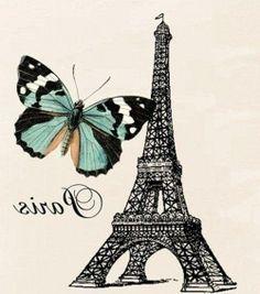 Torre e farfalla