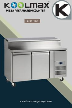 If you're looking for a multi-functional equipment that guarantees the desired level of efficiency in a busy commercial kitchen, then Refrigerated Gastronorm Pizza Preparation Counter are the perfect option to choose. Our counter chillers are manufactured with stainless steel and are ideal for preparing and storing food that requires optimum temperature conditions. or more Information please call now 01204 32 44 33 or Visit. #gastronormpizzapreparationcounter #pizzapreparationcounter Pizza Preparation, Commercial Catering Equipment, Commercial Kitchen, Counter, Stainless Steel, Storage, Food, Purse Storage, Commercial Cooking