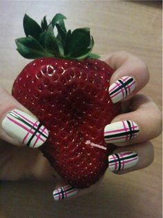nails and strawberry :)