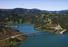 A 132-mile-long drive starts in Santa Rosa, just north of San Francisco, and follows three highways (Sonoma Hwy, St. Helena Hwy, and Redwood Hwy) through breathtaking acres of sprawling vineyards, forested hills, oak woodlands, several state parks — including beautiful Clear Lake State Park — as well as a handful of historic sites.