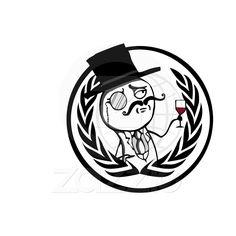 Logotipo anónimo de LulzSec Tazas De Café de Zazzle.com