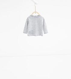 Imagen 1 de Jersey punto rayas de Zara