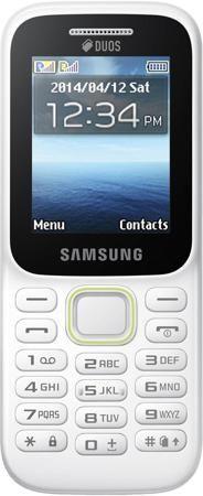 Samsung Guru Music 2 SM-B310E White  — 1790 руб. —  Поддержка двух SIM-карт. Слот для карты памяти. FM-радио. Аудиоплеер
