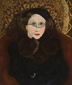 Gladys Hynes (1888–1958) - (painted 1936) by Cedric Lockwood Morris (1889-1982), British (artuk)