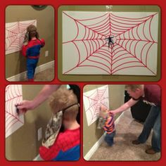 Shanell Knudsen: Spiderman Birthday Party