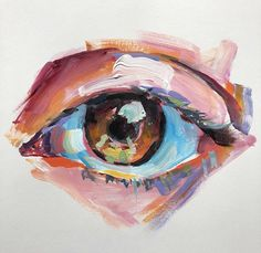 Gcse Art Sketchbook, Sketchbook Ideas, Oil Pastel Art, Eye Painting, Art Drawings Sketches, Sketch Art, Eye Art, Art Plastique, Portrait Art