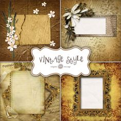 Freebies Vintage Style Backgrounds & QP