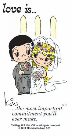 Love is.❤️ the most important commitment you'll ever make .I love you baby Love Is Cartoon, Love Is Comic, Marriage Relationship, Love And Marriage, Happy Marriage, What Is Love, Love You, My Love, Life Quotes Love