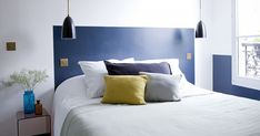 Low Budget Headboard Design Idea - Paint A Headboard Directly On The Wall