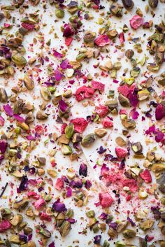 Rose & Pistachio White Chocolate Bark With Pink Sea Salt Now, Forager Teresa Floyd Photography Homemade Chocolate Bars, White Chocolate Bark, Make Your Own Chocolate, Chocolate Recipes, Chocolate Dreams, Chocolate Fudge, Vegan Chocolate, Come Reza Ama, Romantic Candle Light Dinner