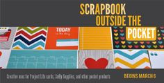 Learn how to use your favorite 3x4 and 4x6 pocket products on your regular scrapbook layouts with Scrapbooking Outside the Pocket. http://scrapinspired.com/?p=7908