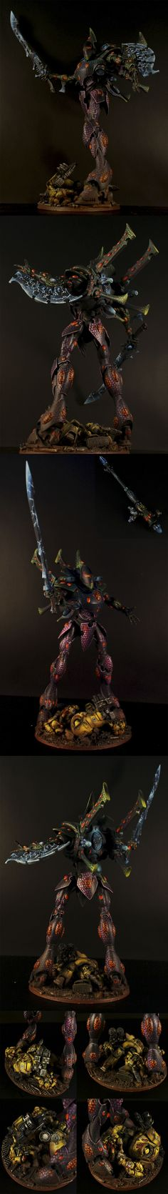 40k - Eldar Wraithknight by Shepard