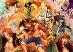 one piece for ever!