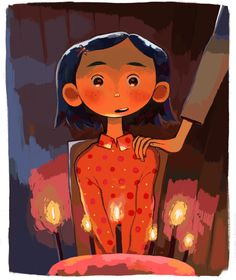 """miuwis: """" welcome home coraline """" Coraline Art, Coraline Jones, Girl Drawing Sketches, Drawings, Character Concept, Character Design, Laika Studios, Kubo And The Two Strings, Welcome Home"""