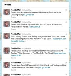 Florida Headlines Inspire Twitter Feed Featuring World's Least Appealing Superhero