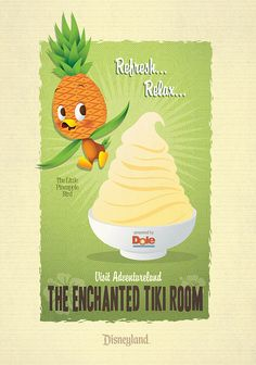 Little Pineapple Bird by Jerrod Maruyama, via Flickr. Is this a poster? Because I love it.