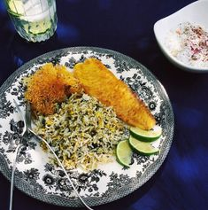 Turmeric & Saffron: Mahi - Fish (Fried, Smoked or Baked) Persian New Year's Day Lunch/Dinner