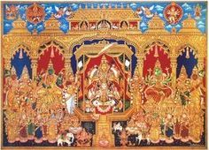 A good picture for Navaratri, Kamakshi and other Goddess