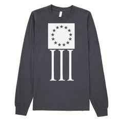 Threeper Bars Long Sleeve T-Shirt