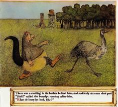 Illustrations for 'The Bunyip of Berkeley's Creek' - Quora Moose Art, Folk, Australia, Illustration, Emu, Painting, Animals, Platypus, Illustrations