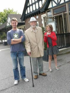 Liam, Denys & Iza, summer 2010