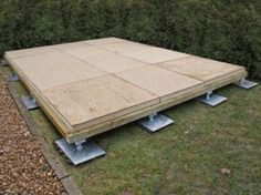 Deluxe RapidPad™ Foundations with Insulation for your shed