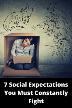 What makes us unhappy? Here are 7 Social Expectations that drain positivity - and that we must constantly fight