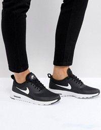 zapatillas negras nike con aire