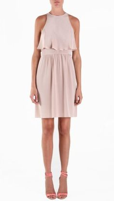tibi dress in toast (looks a little taupe-ish though?)