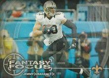 2014 Topps Fantasy Focus #FF-JGR Jimmy Graham, New Orleans Saints