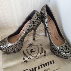 Sapato meia pata Carmim #sapato #shoes #carmim #moda #fashion #look #style #meiapata