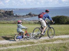 Na het gesleur met de fietskar nu graag gesleur met een follow-me ;-)!