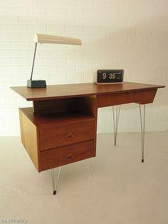 industrial desk vintage design